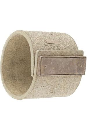 PARTS OF FOUR Bracelets - Long-plaque cuff - Neutrals
