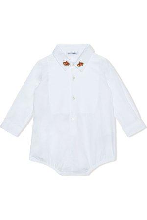 Dolce & Gabbana Crown-embroidered shirt