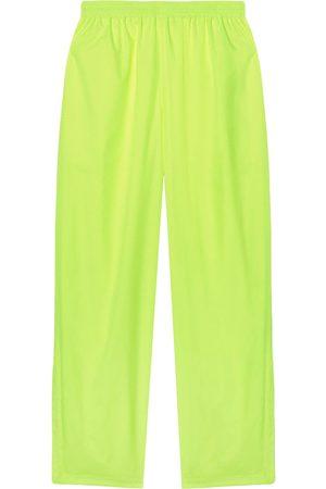 Balenciaga Men Wide Leg Pants - Wide-leg elasticated trousers