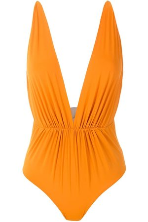 CLUBE BOSSA Women Beachwear - Clavert plunging neck one-piece