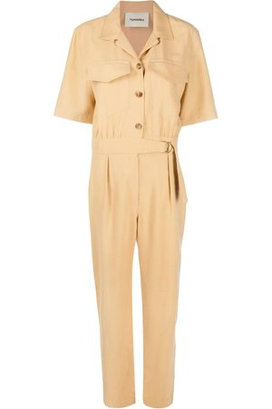 Nanushka Women Jumpsuits - Paige short-sleeve jumpsuit - Neutrals