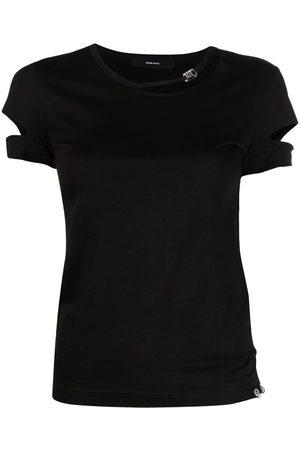 Diesel Cut-out cotton T-shirt