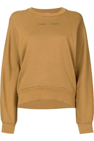 PROENZA SCHOULER WHITE LABEL Women Sweatshirts - Modified raglan solid sweatshirt