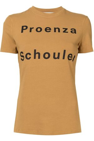 PROENZA SCHOULER WHITE LABEL Logo print T-shirt