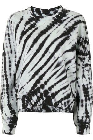 PROENZA SCHOULER WHITE LABEL Tie-die crew neck sweatshirt