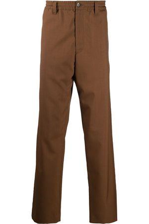 Marni Men Straight Leg Pants - Virgin wool straight-leg trousers
