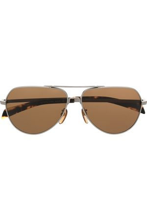 DB EYEWEAR BY DAVID BECKHAM Aviator-frame sunglasses - Metallic
