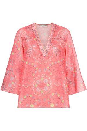Emilio Pucci Women Blouses - Conchiglie-print blouse