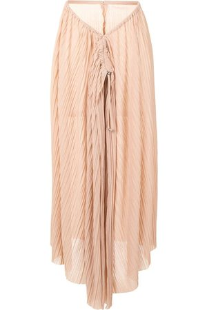 DION LEE Pleated gathered skirt