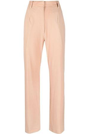 MM6 MAISON MARGIELA Women Straight Leg Pants - Straight-leg trousers - Neutrals