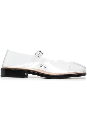 Maison Margiela Sheer Tabi-toe sandals - Neutrals