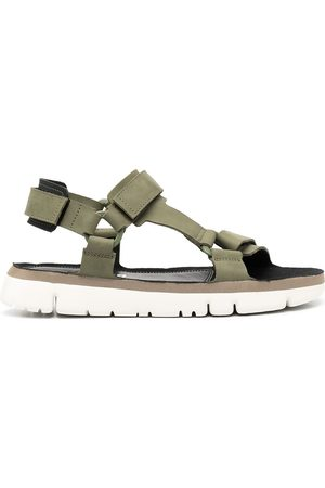 Camper Men Flat Shoes - Oruga flat touch-strap sandals