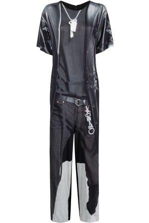 MM6 MAISON MARGIELA Graphic-print jumpsuit