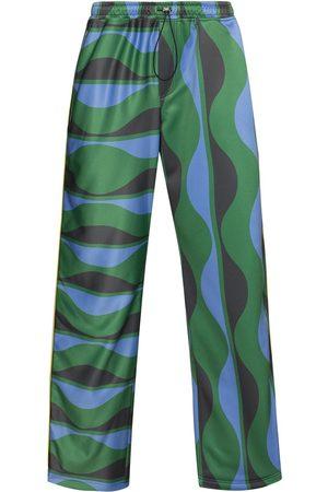 Ahluwalia Joy Wavy loose-fit trousers