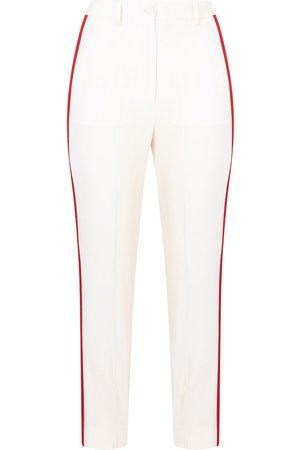 Dolce & Gabbana Women Pants - Side-stripe high-waisted trousers