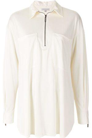 Alcaçuz Adele zip shirt