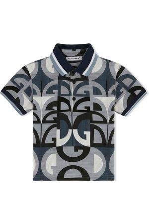Dolce & Gabbana Logo-print polo shirt