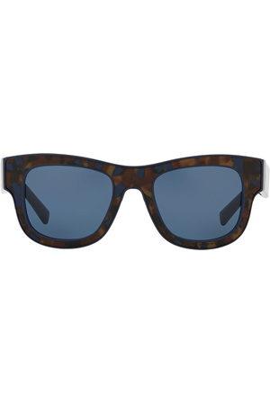 Dolce & Gabbana Men Square - Square-frame tortoiseshell-effect sunglasses
