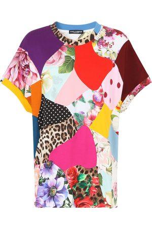 Dolce & Gabbana Patchwork oversized T-shirt