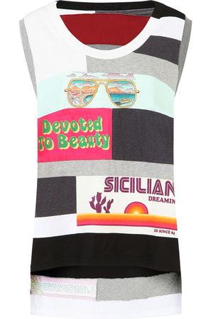 Dolce & Gabbana Mix-print tank top - Neutrals