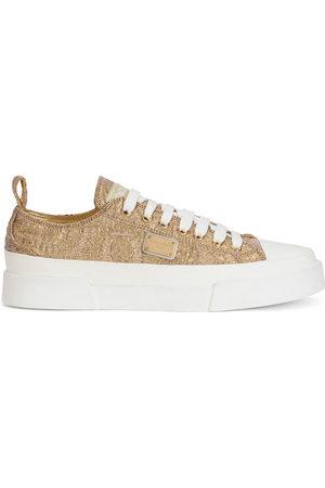 Dolce & Gabbana Women Sneakers - Brocade low-top sneakers