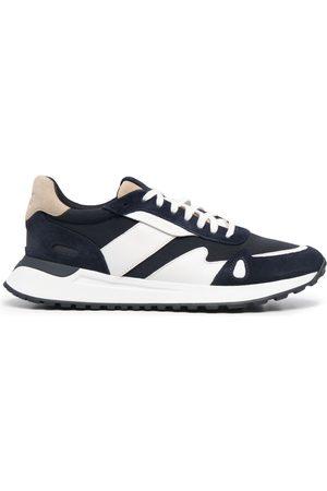 Michael Kors Men Sneakers - Colour-block low-top trainers
