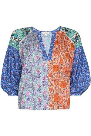 BOTEH Elektra patchwork blouse