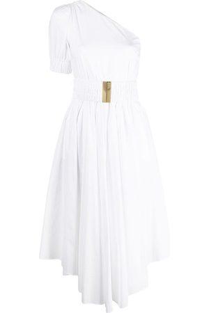 Michael Kors Women Dresses - Belted one shoulder dress