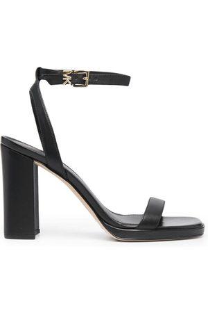 Michael Kors Block-heel leather sandals