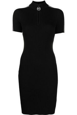 Michael Kors Women Knitted Dresses - Logo knit dress