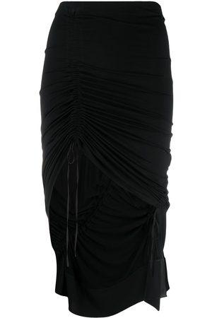 Nº21 Drawstring ruched miniskirt
