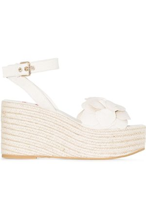 VALENTINO GARAVANI Women Wedges - Atelier 03 Rose Edition 90mm wedge sandals - Neutrals