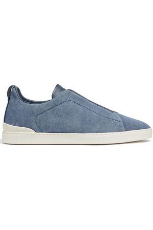 Ermenegildo Zegna Men Sneakers - Two-tone design sneakers
