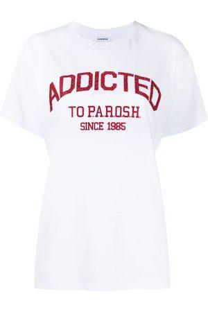 P.a.r.o.s.h. Women T-shirts - Embellished logo T-shirt