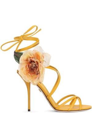 Dolce & Gabbana Floral-motif sandals