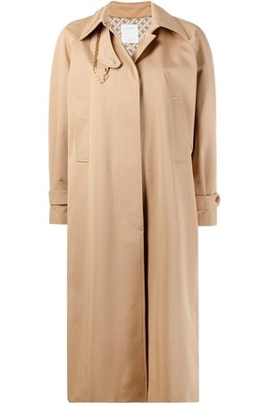 Sandro Women Trench Coats - Oversized concealed fastening trench coat