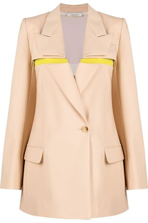 Nina Ricci Women Blazers - Foldover-panel blazer - Neutrals