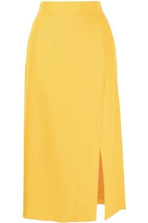 Dolce & Gabbana Side slit midi skirt
