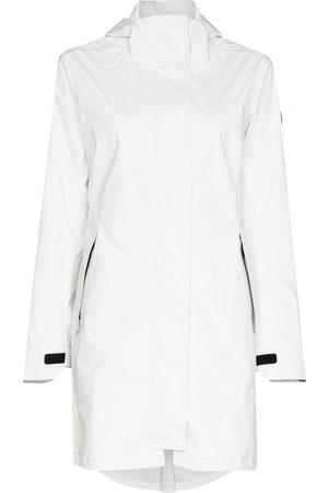Canada Goose Women Trench Coats - Salida hooded raincoat