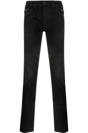 Philipp Plein Super Straight stonewashed jeans