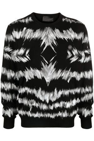 Philipp Plein Tie-dye cotton pullover