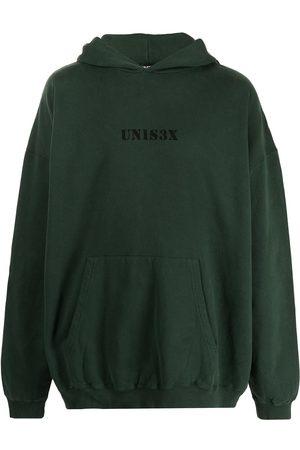 BALENCIAGA Hoodies - Unisex-print oversized hoodie