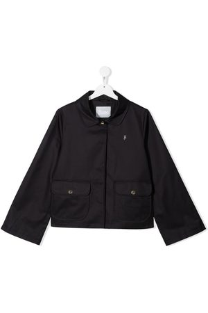 HERNO Bomber Jackets - TEEN cropped jacket