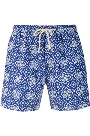 PENINSULA SWIMWEAR Santa Margherita geometric swim shorts