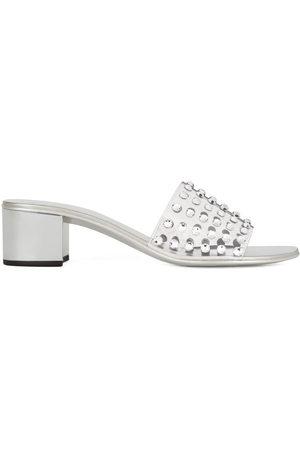 Giuseppe Zanotti Adelia 40 crystal-embellished sandals