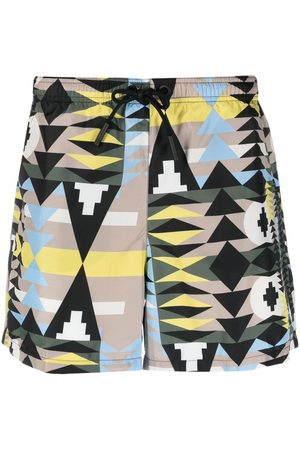 MARCELO BURLON Navaho swimming shorts