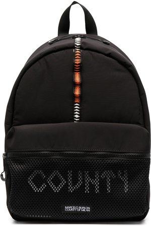 MARCELO BURLON Men Rucksacks - County tape backpack