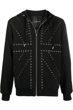 John Richmond Alderton eyelet-detail hoodie