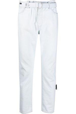 OFF-WHITE Men Straight - Mid-rise straight-leg jeans