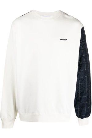 AMBUSH Panelled cotton sweatshirt